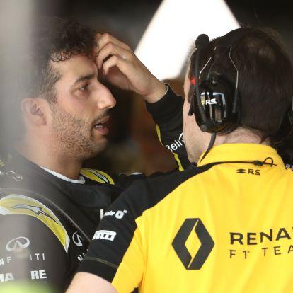 Ricciardo szenvedését ennél már tényleg nem lehet jobban szemléltetni