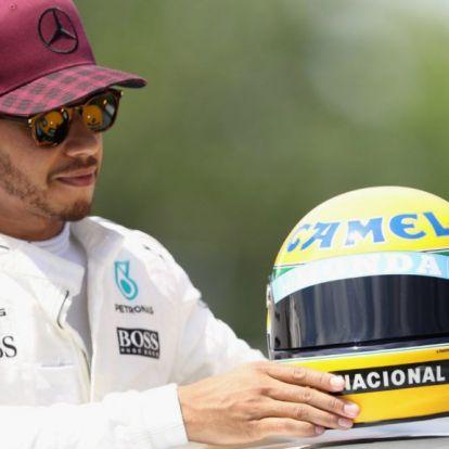 Berger: Csak Hamilton hasonlítható Sennához