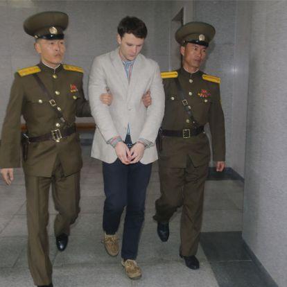 Észak-Korea kifizettetné annak az amerikai fogolynak a kezelését, akit olyan állapotban engedtek el, hogy pár nappal a hazaszállítása után meghalt