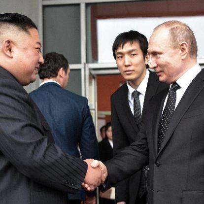 Kim Dzsongun észak-koreai látogatásra hívta meg Putyint
