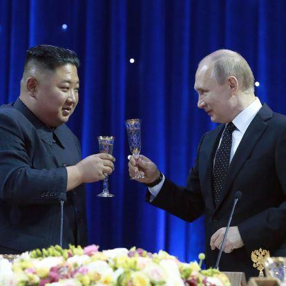 Kim Dzsongun meghívta Putyint Észak-Koreába