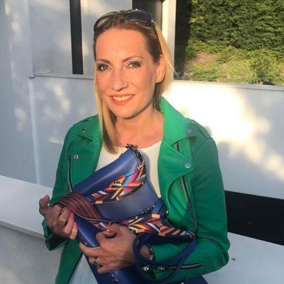 Valkó Eszter veszélyeztetett terhes, Magyarországon fog szülni