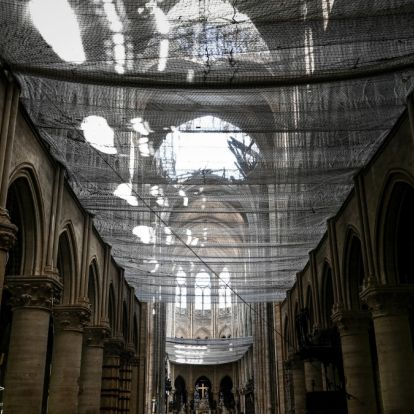 Így néz most ki a Notre-Dame belülről - sokkoló fotók