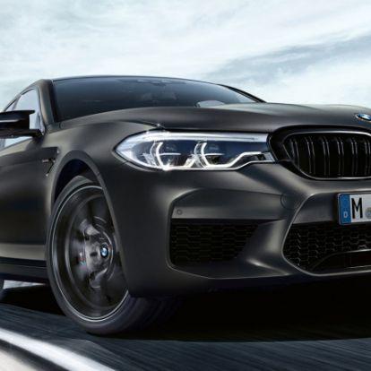 35. születésnapjára különleges, 620 lóerős szériát kapott a BMW M5