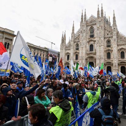 Salvini szövetsége tomboló érzelmekkel ostromolja Brüsszelt