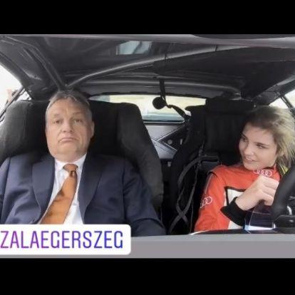 Orbán: Mennyivel mentünk, Vivien? Keszthelyi: Volt 180 is