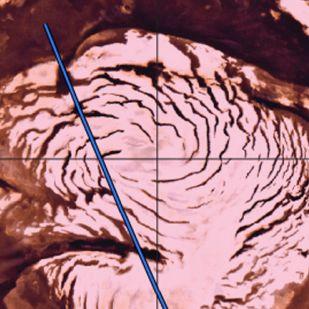 Megtalálták a Mars északi-sarkának ősi jégsapkáját
