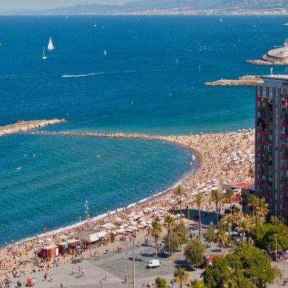Hat barcelonai strand kapott kiváló minősítést