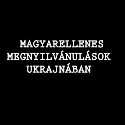 #Programajánló Hétfőre - Magyarellenes megnyilvánulások Ukrajnában
