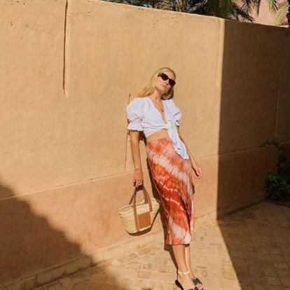 The Stunning £36 Mango Skirt Doing the Rounds On Instagram This Week