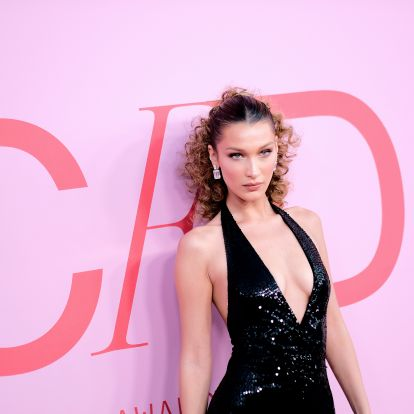 Bella Hadid's CFDA Awards Dress Was Low-Cut Perfection