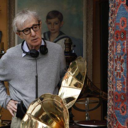 Woody Allennek nem szegte kedvét az Amazon-botrány