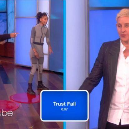 Így activityzik Ellen DeGeneres Will Smith gyerekeivel