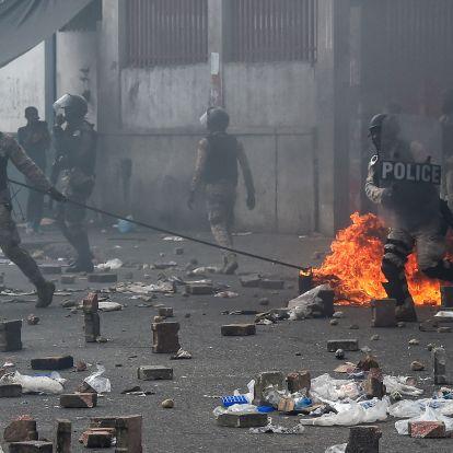 Zavargások törtek ki Haitiben, ketten meghaltak