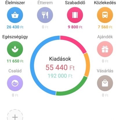 1Money - ingyenes költségkövető, pénzkezelő applikáció
