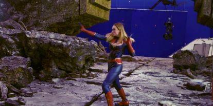A Végjáték forgatási fotóján láthatjuk Marvel Kapitányt a Vormiron - de nem a cselekmény komplett átírásáról van szó
