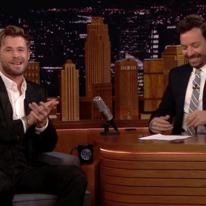 Will Smith miatt lett Chris Hemsworth színész