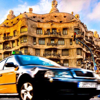 Fix áron is utazhatunk taxival Barcelonában
