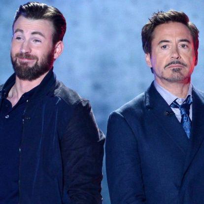 Robert Downey Jr. fenék-mémmel köszöntötte fel Chris Evans-t