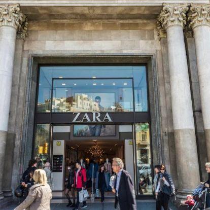 A világ harmadik legnagyobb Zara áruháza nyílik Barcelonában