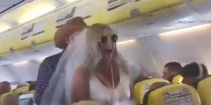 Óriási botrány tört ki a Ryanair Spanyolországba tartó járatán
