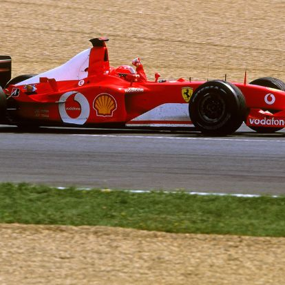 F1: Eladják Schumi botrányos bajnoki Ferrariját