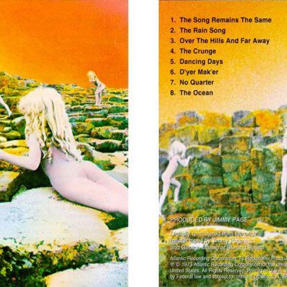 Letiltotta a Facebook a Led Zeppelin egyik lemezborítóját