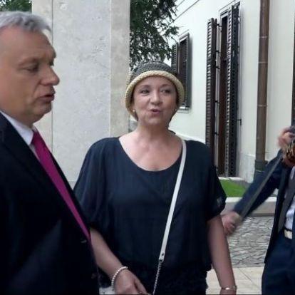 Orbán Viktor dalra fakadt, a miniszterelnök fogadásán Király Gábor is ott volt
