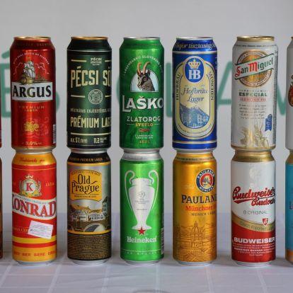 Nagy lager sör teszt