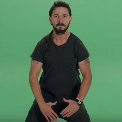 Shia LaBeouf semmi rosszat nem hallott még Keanu Reevesről, de amúgy sem hinné el