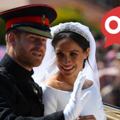 Újabb őrült részlet derült ki Harry herceg esküvőjéről