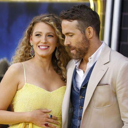 Ryan Reynolds és a várandós Blake Lively friss fotójától elolvadt az internet