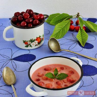 Cseresznyeleves recept - Levesek - Receptvarázs – receptek képekkel