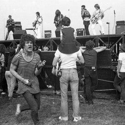 Ezek a fotók bizonyítják, régen is nagy buli volt a fesztiválokon