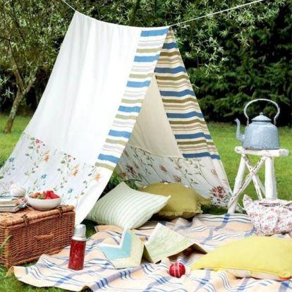 DIY kerti sátor – 5 tipp a gyors kempinghangulatért - !Slideshow - Kert