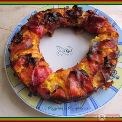Sajtos csirkemell, sonkába tekerve recept - receptek csirkemellből - Receptvarázs – receptek képekkel