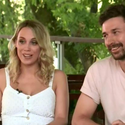 Fotók és videók: Ilyen volt Kiss Ramónáék álomesküvője