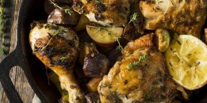 Citromos-olajbogyós csirke, a könnyű mediterrán ízbomba