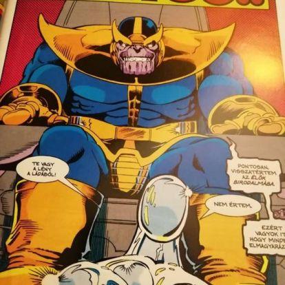 Az őrült titán világuralomra tör - Mega Marvel: Thanos