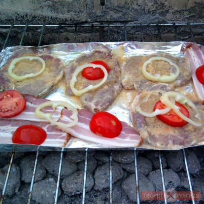 Grillezett tarja recept - Receptek kertipartikhoz - grill, nyárs, vendégváró süti receptek - Receptvarázs – receptek képekkel