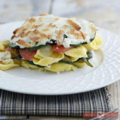 Ravioli zöldségekkel - bevált ravioli recept képpel, olasz töltött tészta receptek - Receptvarázs – receptek képekkel