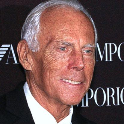 Giorgio Armani 85 éves