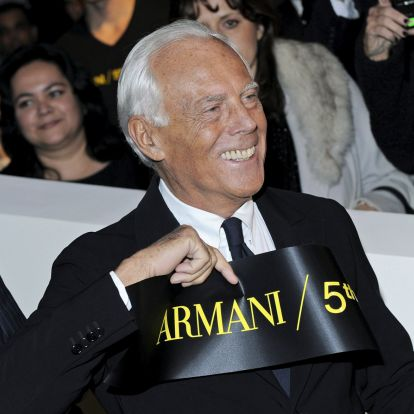 Giorgio Armani, az időtlen elegancia nagykövete 85 éves
