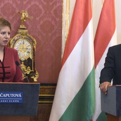 Merész antré az új szlovák államfőtől Budapesten