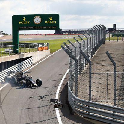 Estek-keltek az F1-esek Silverstone-ban