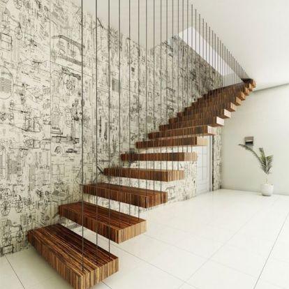 Inspirációk a lenyűgöző beltéri lépcsőkhöz