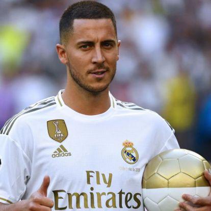 Real Madrid: ezt a mezszámot választotta Hazard