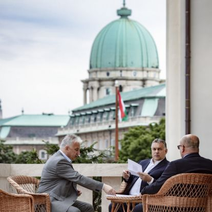 Hihetetlenül mozgalmas napja volt Orbán Viktornak