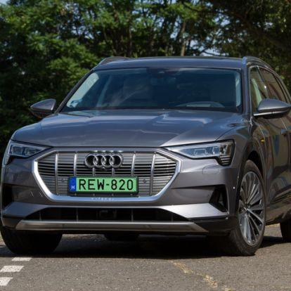 Ha hal lenne, visszadobnám - Teszt: Audi e-tron 55 quattro – 2019.