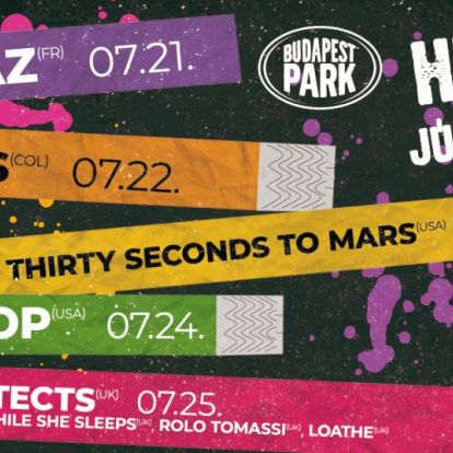 A legnagyobb sztárok váltják egymást a színpadon zsinórban öt napon át a Budapest Parkban